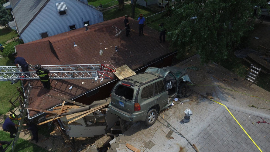 SUV Crashes Into St. Louis Home