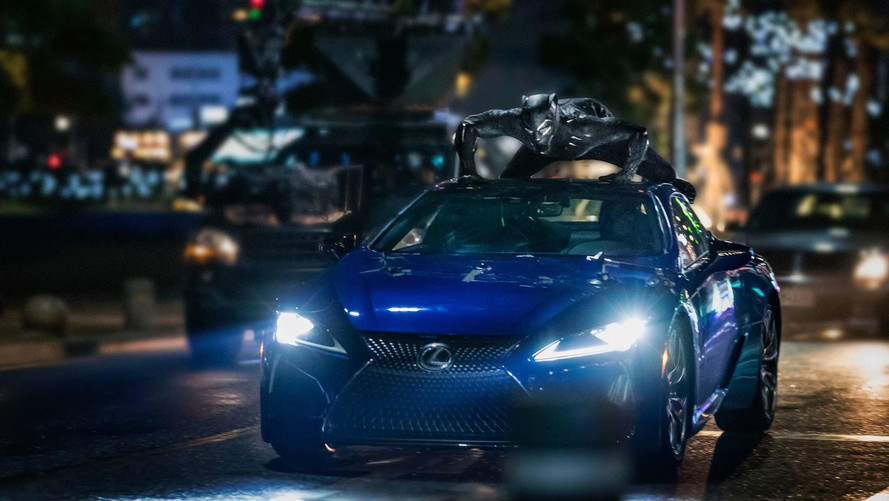 Lexus LC500 Will Make Star Appearance In Marvel's Black Panther