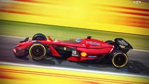 Formula 1 Vision Concept 2025 de Antonio Paglia Design