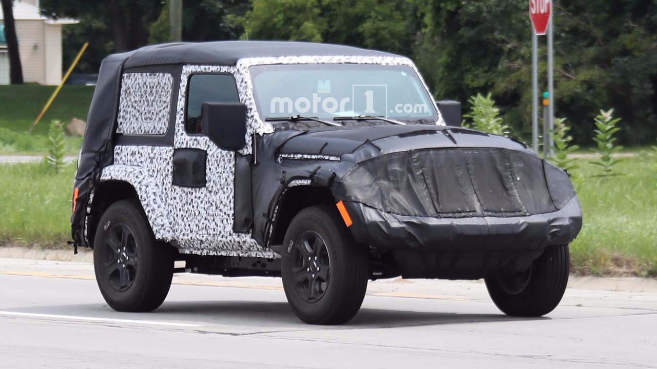 Spy – Jeep Wrangler 2018