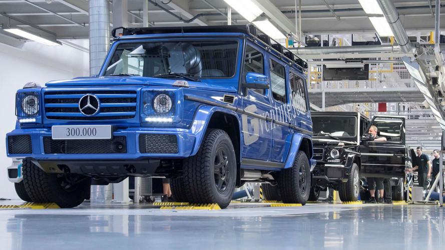 Record - Le Mercedes Classe G franchit la barre des 300'000 exemplaires !
