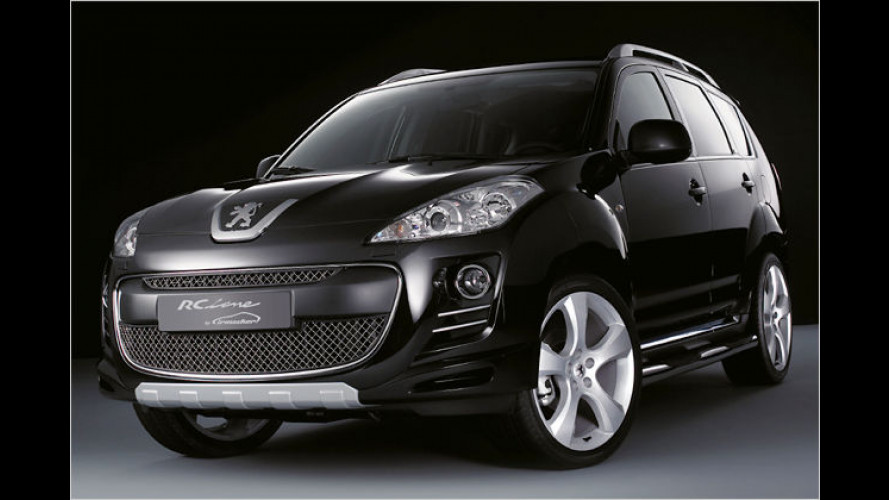 Exklusives SUV: Der Peugeot 4007 RC Line by Irmscher