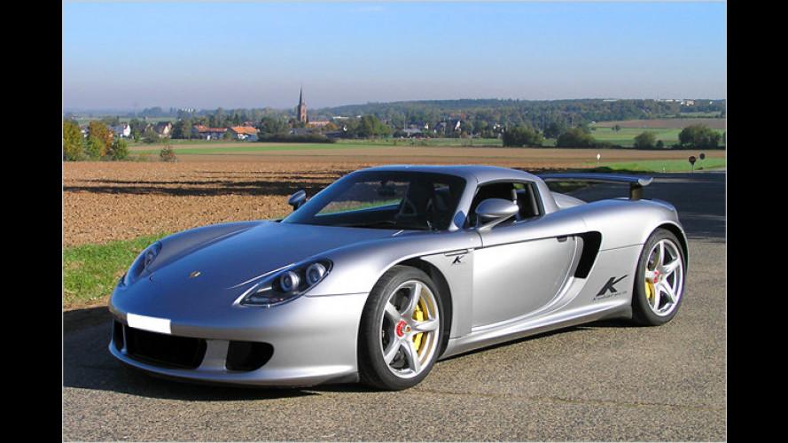 Auf 660 PS gepusht: Porsche Carrera GT von Kubatech