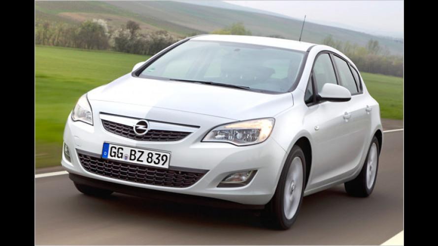 Jetzt beim Händler: Der neue Opel Astra ecoFlex