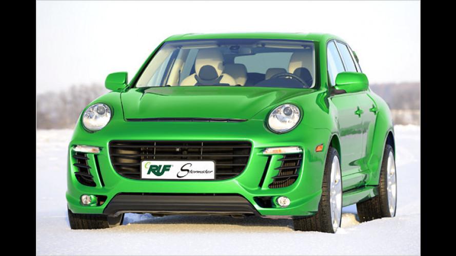 Ruf stellt das erste elektrisch angetriebene SUV vor