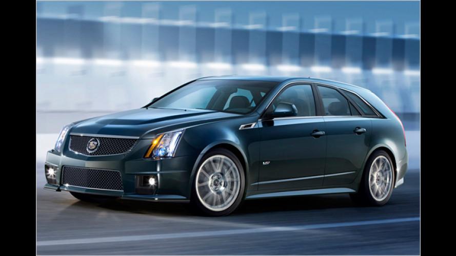 Cadillac CTS-V Sport Wagon: Power-Kombi debütiert in NY