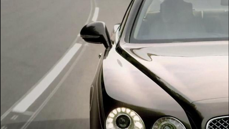 Bentley Continental Flying Spur restyling: i primi teaser