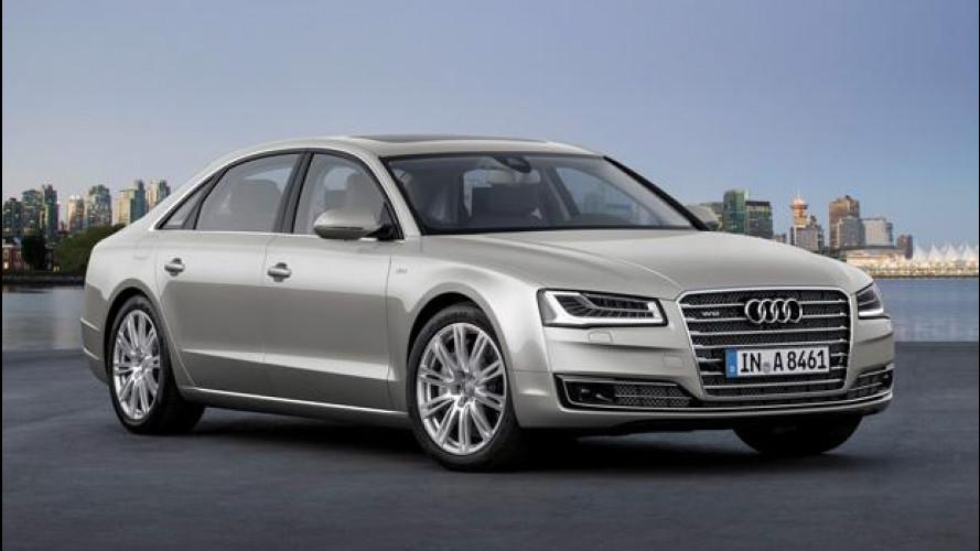 Audi A8 e S8 restyling