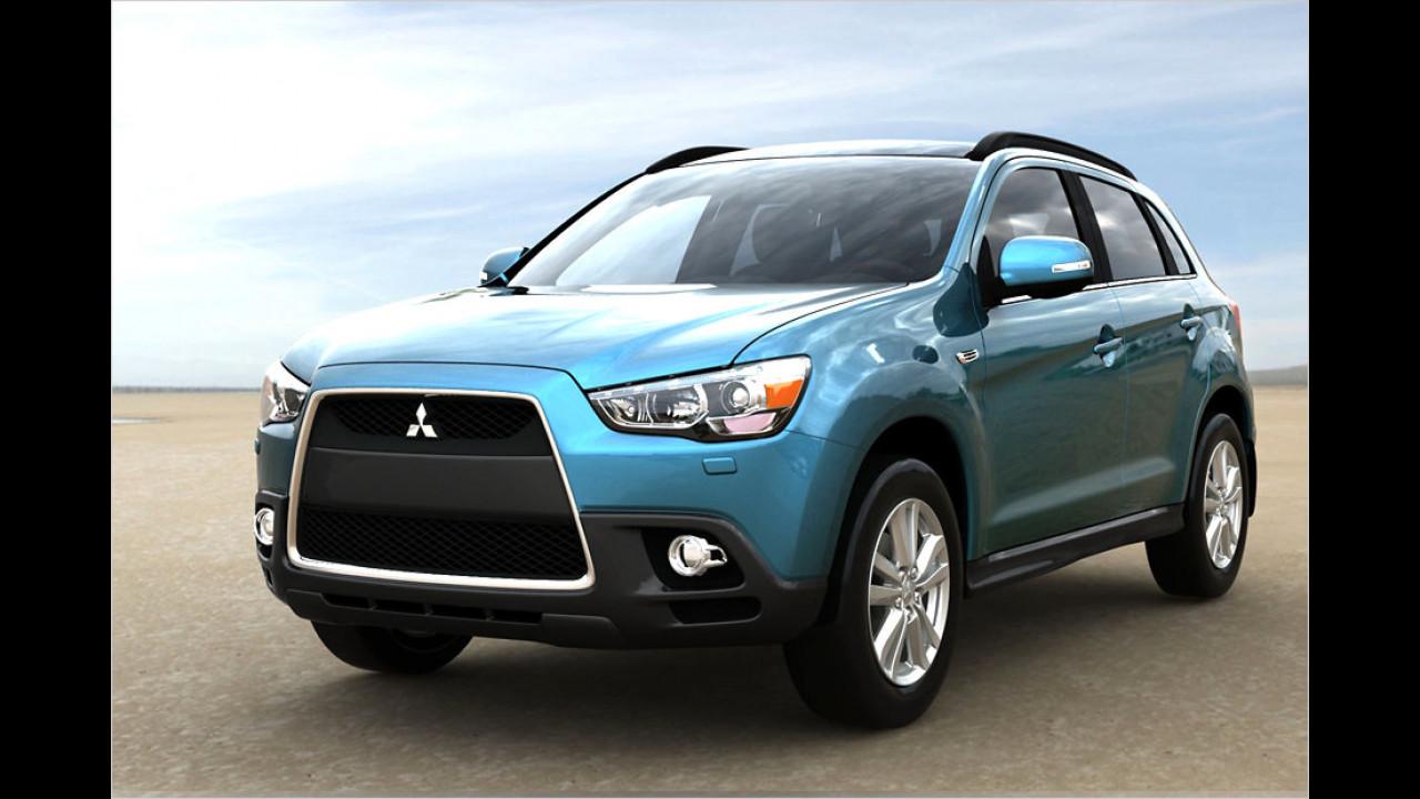 Top: Mitsubishi ASX