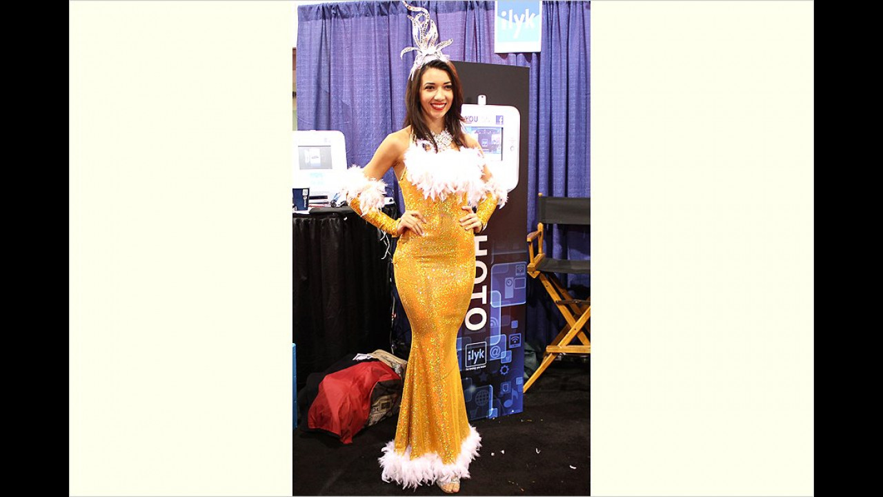 Ah! Die Miss Las Vegas!