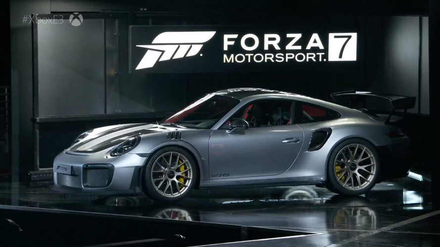 Porsche 911 GT2 RS 2018, presentado junto a Forza Motorsport 7