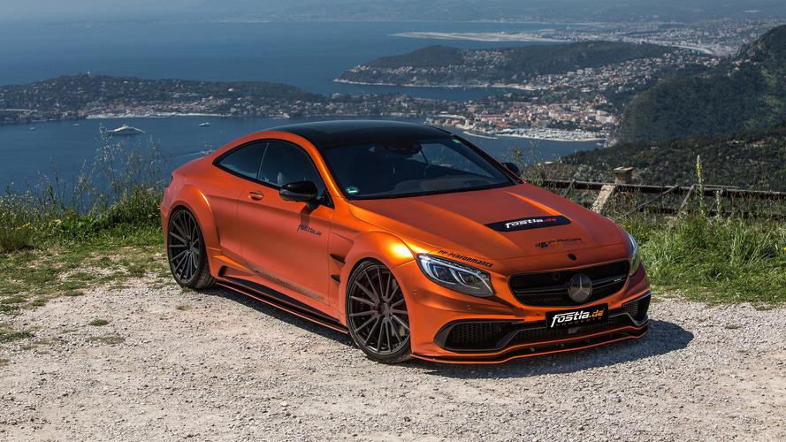 Fostla'nın AMG S63 Coupe'sinin turuncusu gözlerinizi alacak
