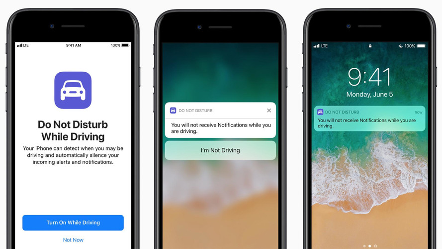Apple Fights Distracted Driving With 'Do Not Disturb' Mode
