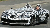 SLR Speedster Spy Shot on the Ring