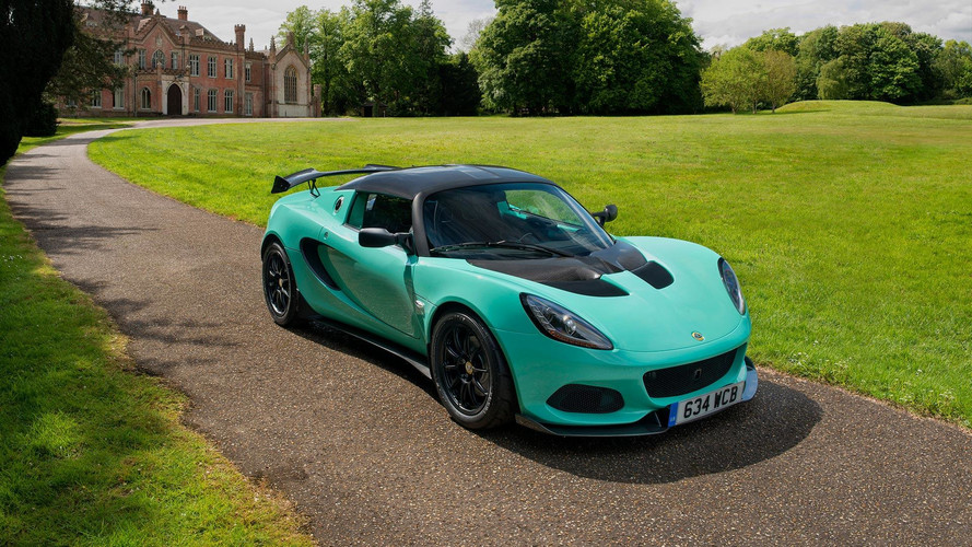 This is the Lotus Elise Cup 250