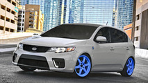 Kia Forte Hat Trick for SEMA - 2.11.2011