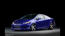 Honda Civic Si Coupe Fox Marketing SEMA
