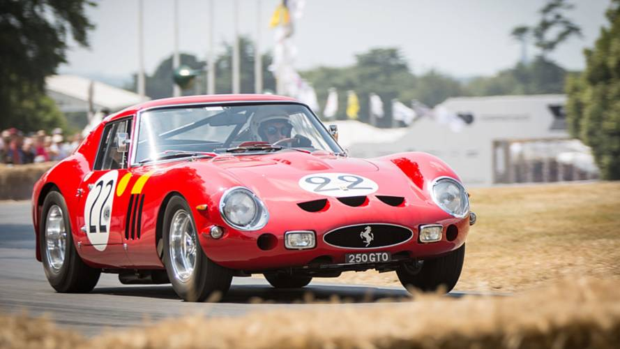 Ferrari at 2018 Goodwood FoS
