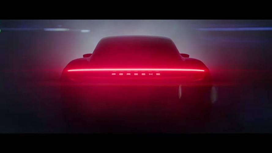 Nouveau teaser pour la Porsche Taycan