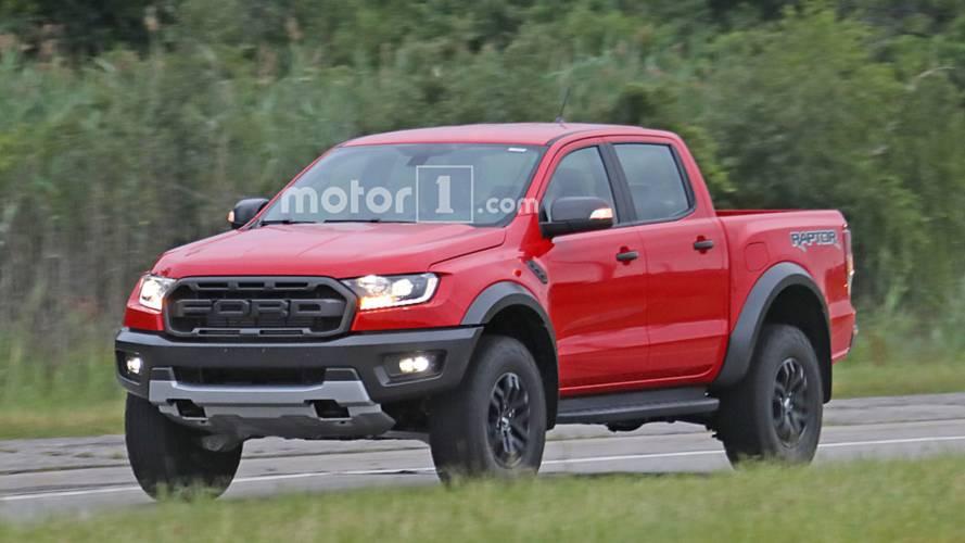 Flagra: Ford Ranger Raptor pode chegar ao Brasil com outro motor