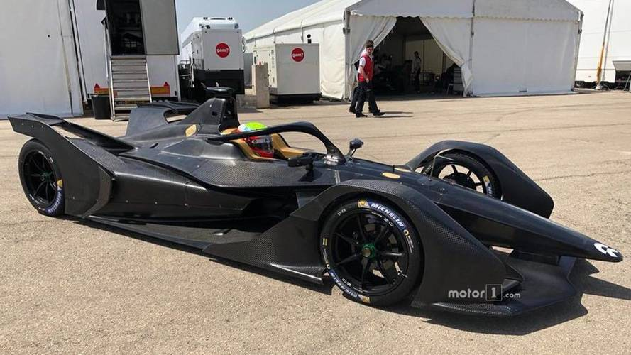 Second-generation Formula E car tested in Spain