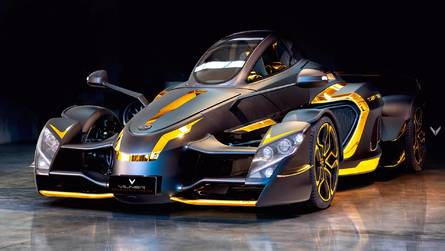 888-HP Tramontana Sports Car Goes Gold Thanks To Vilner