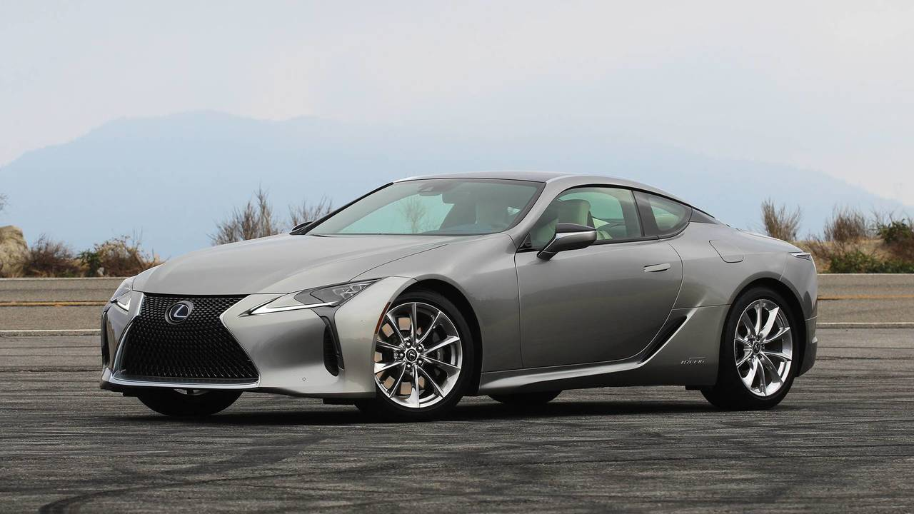 2018 Lexus LC 500h: Review