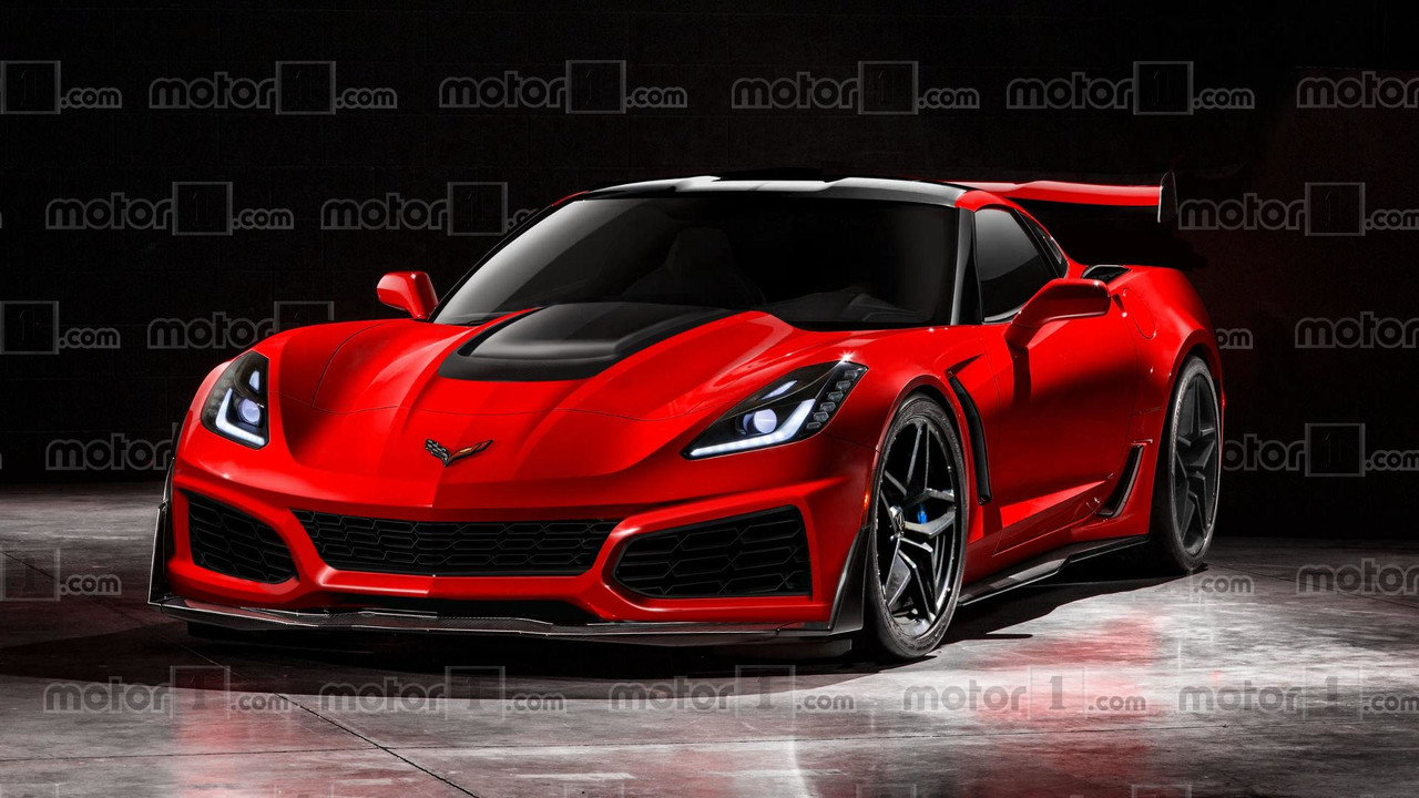2018 Chevy Corvette ZR1 render