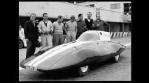 A Monza, Fiat Abarth 750 carrozzata Bertone (dal 26 al 29 giugno 1956)