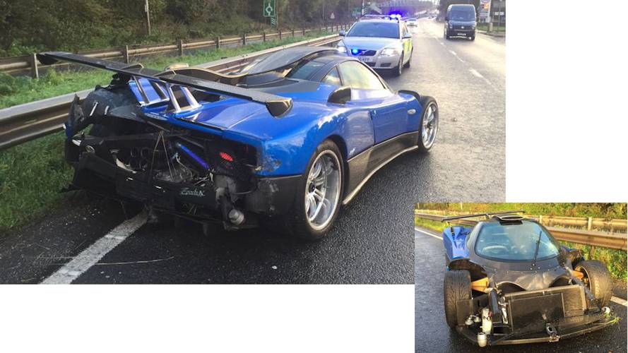 Sussex police investigating £1.5m Pagani Zonda crash