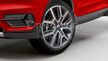 Volvo XC40, il nostro rendering esclusivo