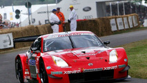 Richard Lyons in his Nissan NISMO 350Z