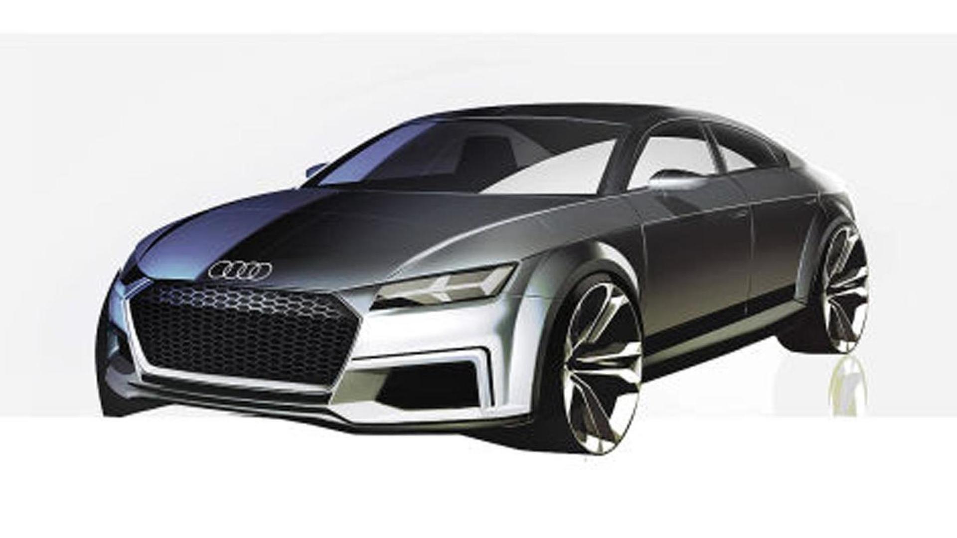Скетч Audi TT Sportback Concept