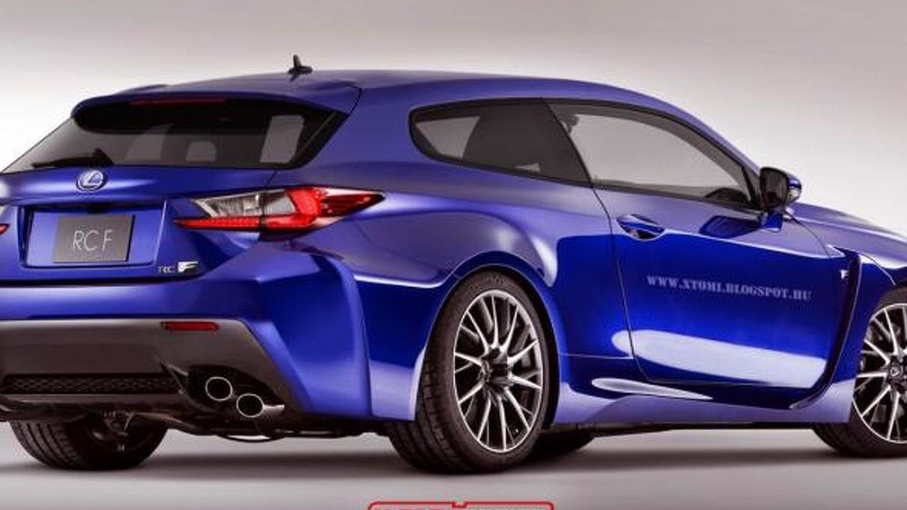 Lexus RC F Shooting Brake rendering / X-Tomi Design