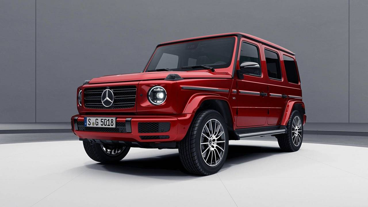 2019 mercedes benz g class night package photo. Black Bedroom Furniture Sets. Home Design Ideas