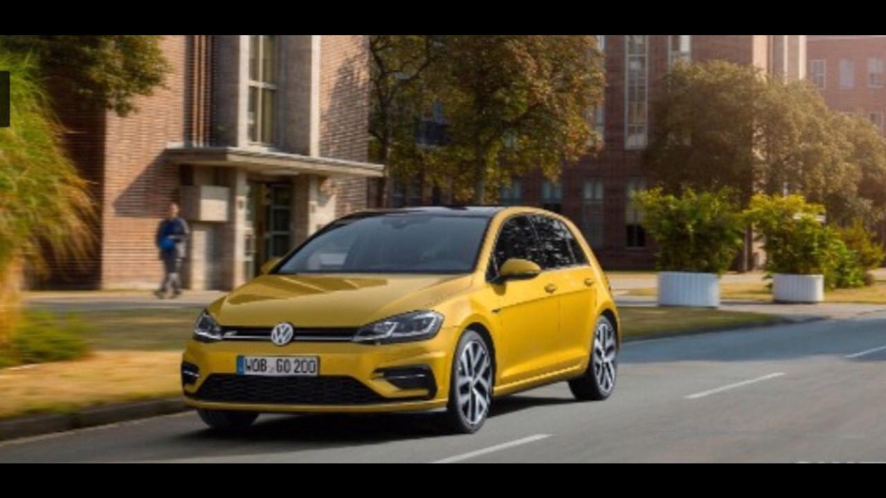 Volkswagen Golf restyling, le foto sfuggite 001