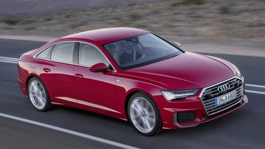2019 Audi A6 leaked official image (not confirmed)