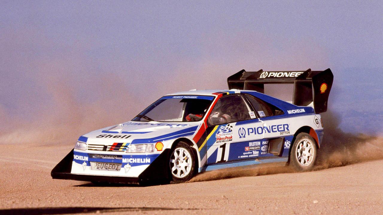 Peugeot 405 T16 Pikes Peak (1988)