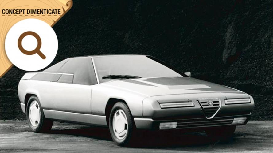 Alfa Romeo Delfino, la coupé di Bertone
