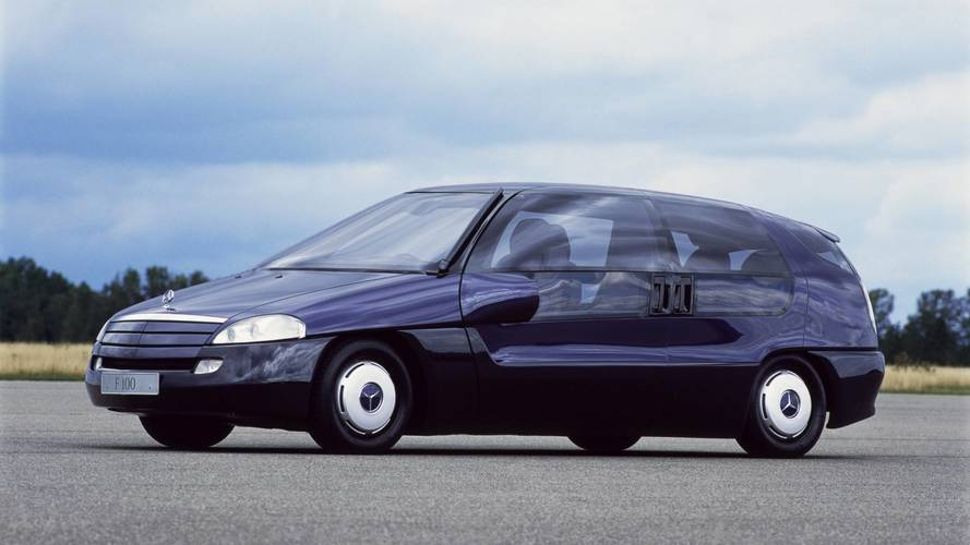 Mercedes F100: la conducción autónoma comenzó aquí