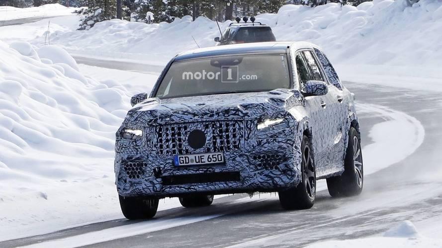 Yeni Mercedes-AMG GLS 63 casuslarımıza yakalandı