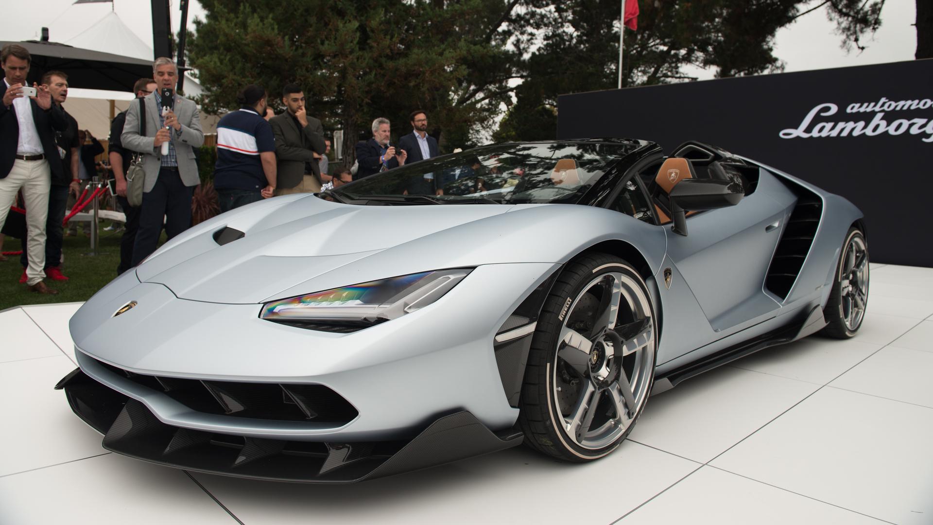 Lamborghini Centenario Roadster Shown For The First Time