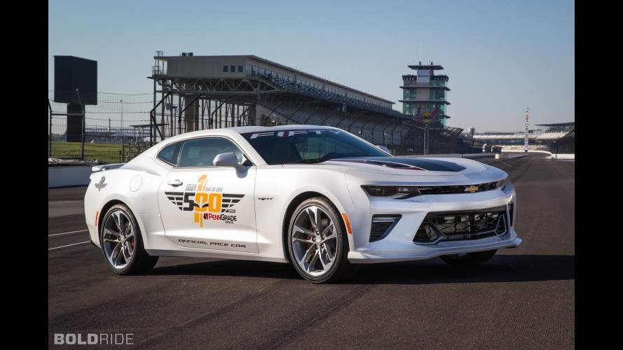 Chevrolet Camaro SS 50th Anniversary Indy Pace Car