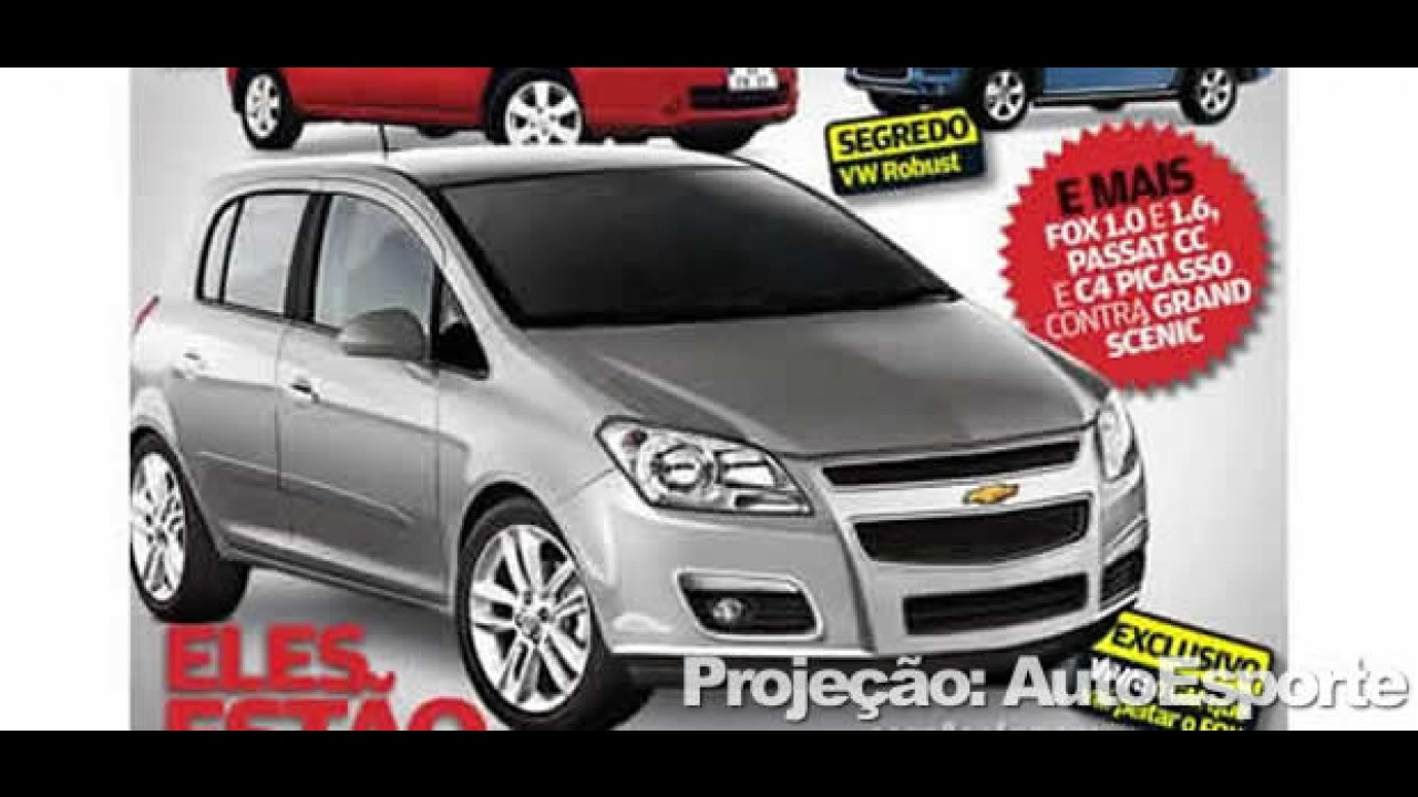 Novo Chevrolet Viva 2010 - Surge nova projeção baseada no hatch Aveo