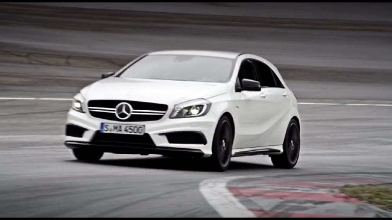 VÍDEO: Novo Mercedes A45 AMG em ação