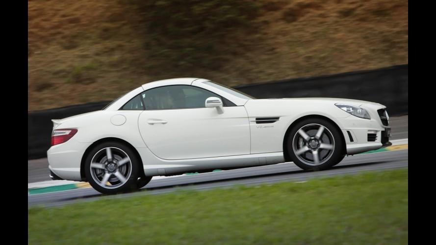 Novo Mercedes SLK 55 AMG é lançado no Brasil por US$ 244.900