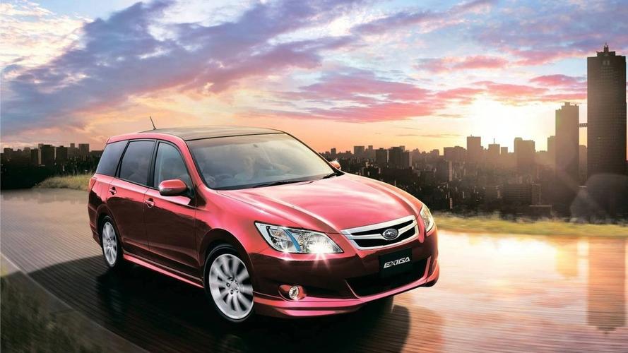 JDM Subaru Exiga Announced for Australian Market - First export market