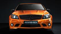 Mercedes Concept 358 based on C63 AMG 15.10.2010