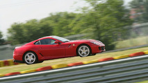 Michael Schumacher with Ferrari 599 GTB HGTE