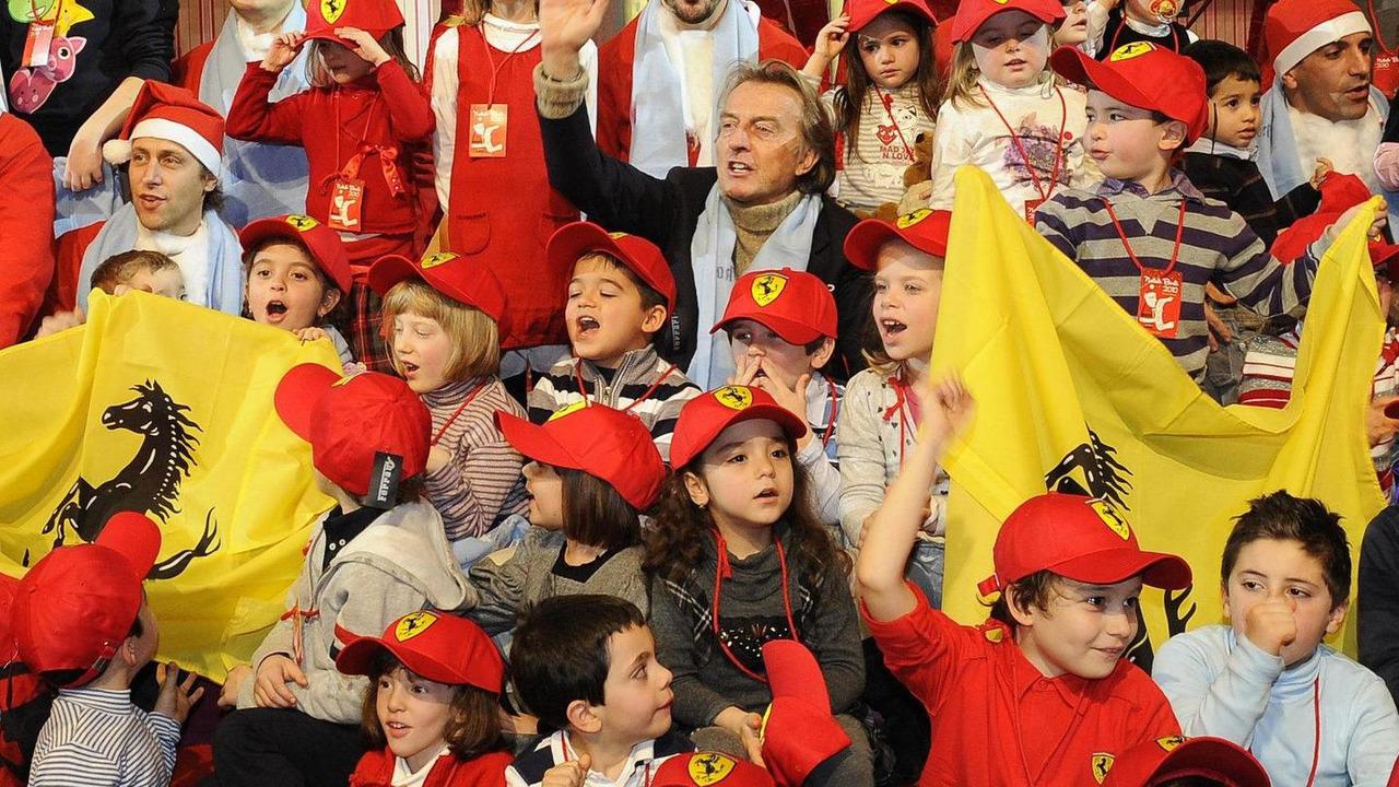 Luca di Montezemolo, Kids Christmas 2010, 12.12.2010
